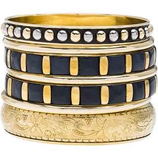Ariel Bangle Bracelets (Set of 7) (India)