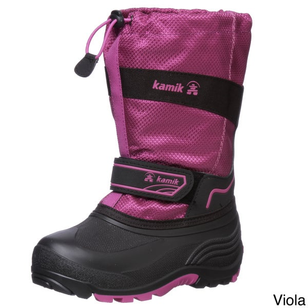 Kamik Girl's 'Coaster' Nylon Snow Boots