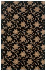 Hand-tufted Sovereignty Black Country Rug (5' x 8')