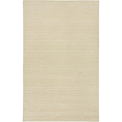 Hand-tufted Sovereignty Solid White Rug (8' x 8' Round)