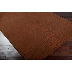 Hand-tufted Bayard Brown New Zealand Wool Rug (3'3 x 5'3)