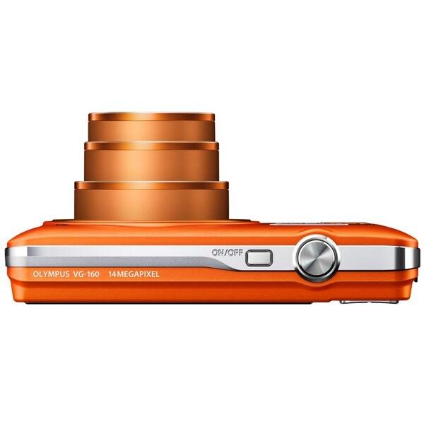 Olympus VG-160 14MP Orange Digital Camera