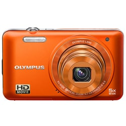 Olympus VG-160 14MP Orange Digital Camera