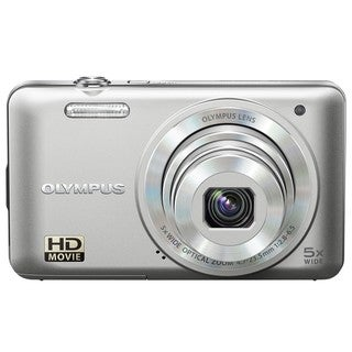 Olympus VG-160 14MP Silver Digital Camera