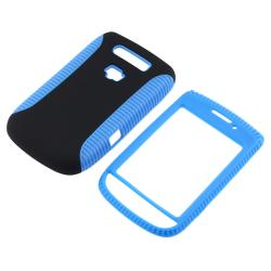 Blue TPU/ Black Hard Hybrid case for BlackBerry Torch 9800/ 9810