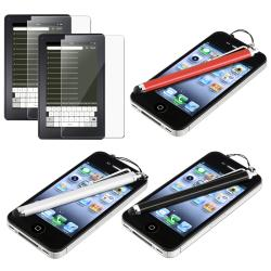 INSTEN Clear Screen Protectors/ Stylus for Amazon Kindle Fire