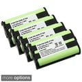 Compatible Ni-MH Battery for Panasonic HHR-P104 Cordless Phone(Pack of 4)