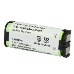 INSTEN Compatible Ni-MH Battery for Panasonic HHR-P105 Phone (Pack of 2)