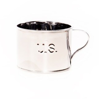 Classic Tin Cup, U.S. Embossed, Small (Original Tin)