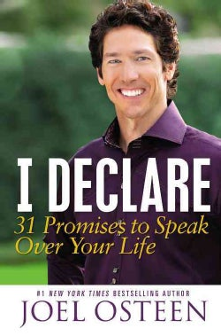 I Declare: 31 Promises to Speak over Your Life (Hardcover)