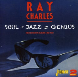 Ray Charles - Genius Hits The Road/Dedicated To You/Genius + Soul=Jazz/With Betty Carter