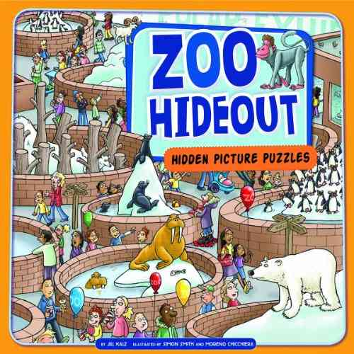 Zoo Hideout: Hidden Picture Puzzles (Hardcover)