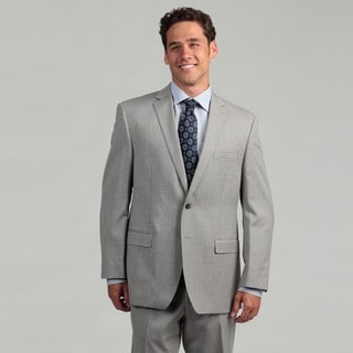 Calvin Klein Men's Light Grey Wool Suit