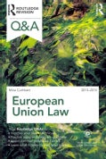 European Union Law, 2013-2014 (Paperback)