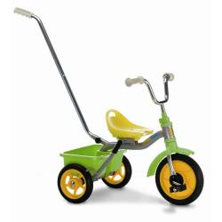Italtrike Green/ Yellow Transporter Classic Tricycle