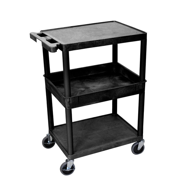 Luxor Single Tub Heavy Duty Utility Cart