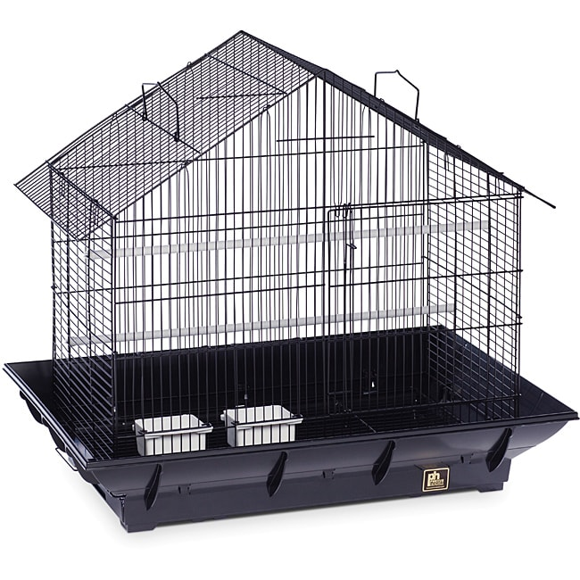 Prevue Pet Products Black Clean Life House Bird Cage