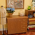 Arrow Marilyn Sewing Machine Cabinet with Airlift & Storage Kit by Exponential