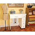 Arrow Auntie Em White Sewing Cabinet & T