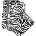 Safari Zebra Carpet Car Floor Mats (Set of 4)