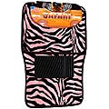 Safari Pink Zebra 4-piece Car Floor Mat Set