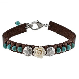 Rose and Turquoise Bracelet (Israel)