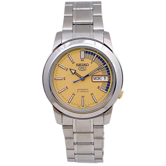 Seiko Men's SNKK29 Automatic Stainless Steel Watch