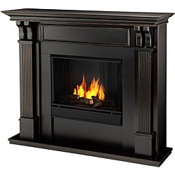 Real Flame Blackwash Ashley Gel Fireplace