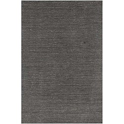 Hand-loomed Grey Wool Area Rug (2' x 3')