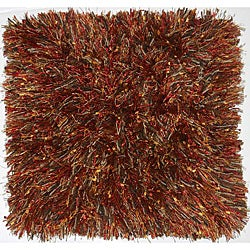 Hand-woven Red Wool Area Rug (2'x 3')