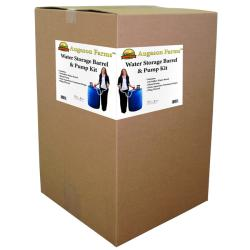 Augason Farms 55-gallon Plastic Emergency Water Storage Barrel Kit