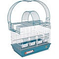 Prevue Pet Products Blue/ White Double Playpen Cockatiel Cage