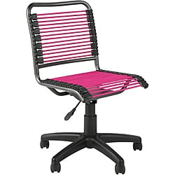 Bungie Low Back Pink/ Graphite Black Office Chair