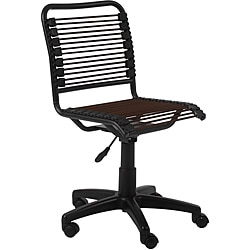 Bungie Low Back Brown/ Graphite Black Office Chair