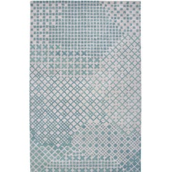 Hand-tufted Hesiod Beige Rug (5' x 8')