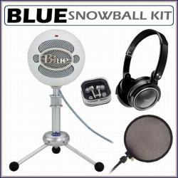 Blue Microphones Snowball USB Microphone with Accessory Kit