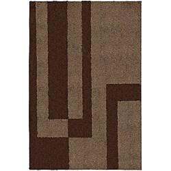 Prism Mink Brown Rug (5' x 8')