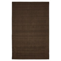 Stacks Mink Brown Rug (5' x 7')
