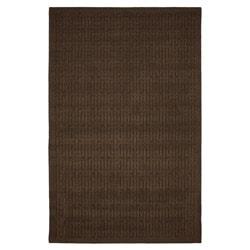 Stacks Mink Brown Rug (5' x 7')