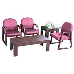 Boss Reception Group Chair/ Table Set