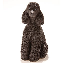 Star Legacy Black Poodle Keepsake Pet Urn - One-cubic-inch Capacity