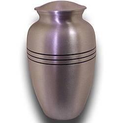 Star Legacy Extra Large Brushed Pewter Pet Urn