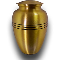 Star Legacy Large Brushed Brass Pet Urn