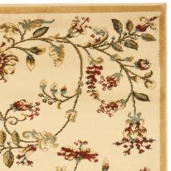 Lyndhurst Zen Gardens Ivory Pile Rug (2'3 x 12')