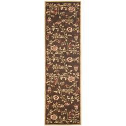 Safavieh Lyndhurst Zen Gardens Brown Rug (2'3 x 12')