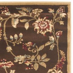 Safavieh Lyndhurst Zen Gardens Brown Rug 2 3 X 8