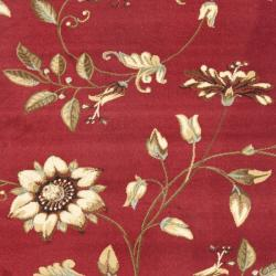 Safavieh Lyndhurst Zen Gardens Red Rug (5'3 x 7'6)