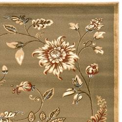 Safavieh Lyndhurst Zen Gardens Green Rug (9' x 12')