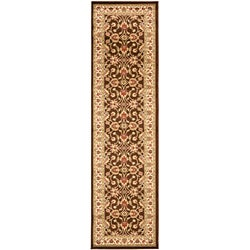 Lyndhurst Traditions Brown/ Ivory Rug (2'3 x 16')
