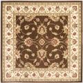 Lyndhurst Traditions Brown/ Ivory Rug (6'7 Square)